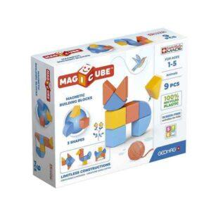 Jogo de Construção Geomag Magicube animais (9 Peças)