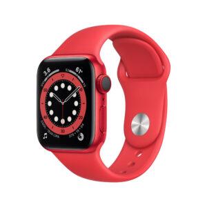 Smartwatch Apple Series 6 Cristal de safira watchOS 7 Vermelho