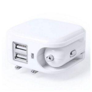 Carregador USB de Parede e para Automóveis 2100 mAh 145578