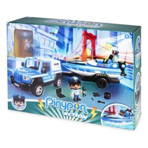 Playset Pinypon Action Police Famosa