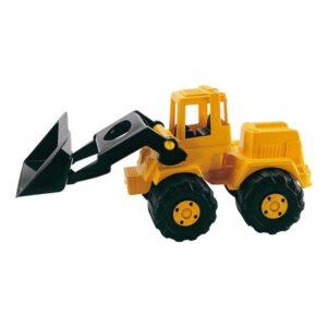 Escavadora Amarelo Plástico