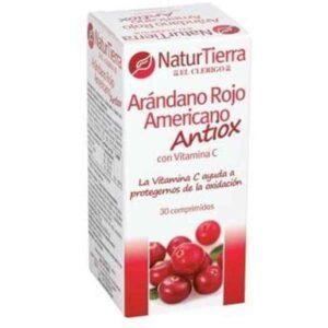 Complemento Alimentar Naturtierra Vermelho Americano Arandos (30 uds)