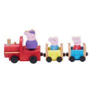 Comboio Peppa Pig Bandai Madeira (30 x 11,5 x 10 cm)