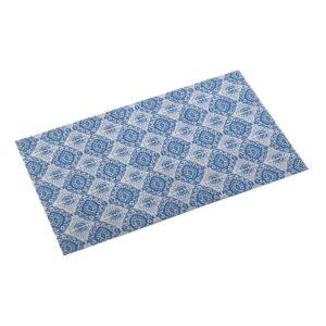 Tapete Aveiro Cozinha Azulejo Poliéster (50 x 2 x 80 cm)