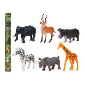 Conjunto 6 Animais Selvagens 110227