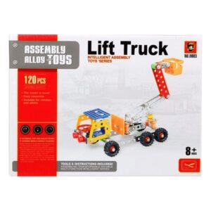 Jogo de Construção Camião com grua 117622 (120 Pcs)