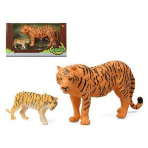 Conjunto 2 Animais Selvagens Tigre