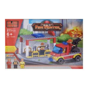 Jogo de Construção Fire Fighter (211 pcs)