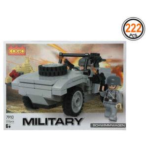 Jogo de Construção Military (222 pcs)