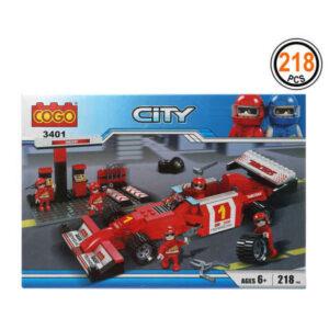 Jogo de Construção City (218 pcs)
