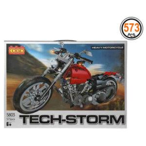 Jogo de Construção Tech-Storm (573 pcs)