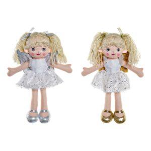 2 Bonecas de Trapo DKD (25 x 10 x 35 cm)