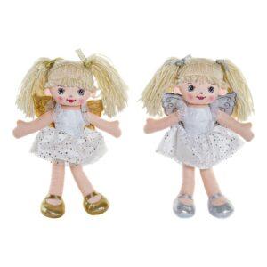 2 Bonecas de Trapo Fada (2 pcs) (18 x 10 x 30 cm)