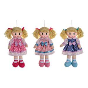 3 Bonecas de Trapo (3 pcs) (20 x 7 x 40 cm)