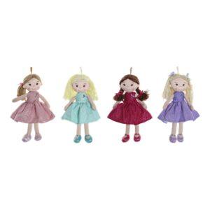 4 Bonecas de Trapo  (23 x 10 x 40 cm)