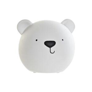 Lâmpada de mesa DKD Home Decor Urso Porcelana 25W 220 V LED (17 x 14 x 14 cm)