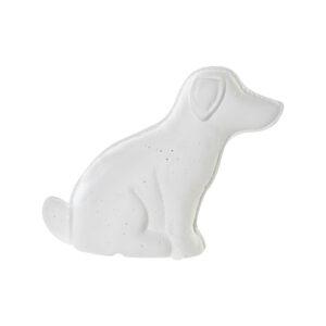 Lâmpada de mesa DKD Home Decor Branco Porcelana LED Cão (25 x 10 x 19 cm)