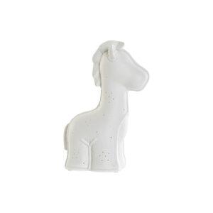 Lâmpada de mesa DKD Home Decor Branco Porcelana 25W 220 V LED Girafa (18 x 10 x 25 cm)