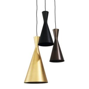 Candeeiro de teto DKD Home Decor Multicolor Metal (30 x 30 x 60 cm)