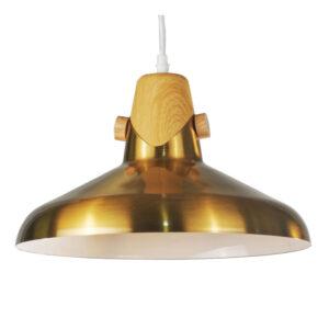 Candeeiro de teto DKD Home Decor Metal Dourado (35 x 35 x 21 cm)