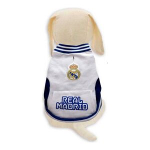 Camisola para Cães Real Madrid C.F. Branco L