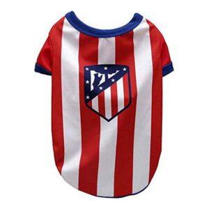 T-shirt para Cães Atlético Madrid Vermelho Branco L