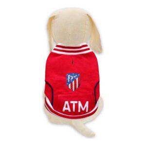 Camisola para Cães Atlético Madrid Vermelho XS