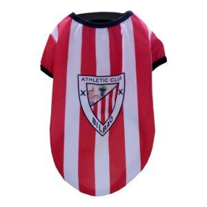 T-shirt para Cães Athletic Club Vermelho Branco L