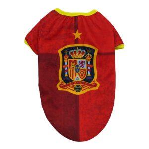 T-shirt para Cães RFEF Vermelho L