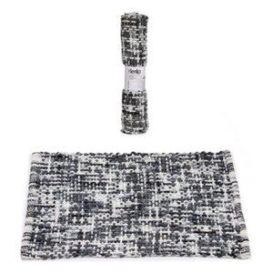 Tapete de banho Cinzento Escuro (50 x 80 cm)