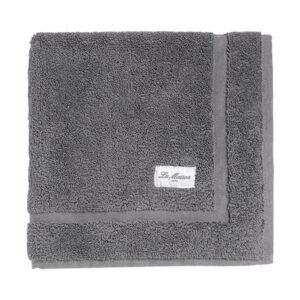 Tapete de banho La Maison Aries Algodão (50 x 70 cm) Cinzento