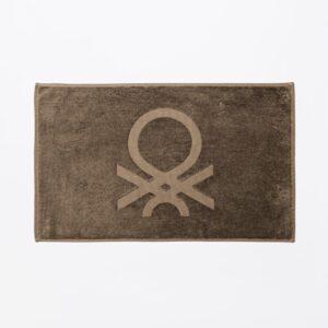 Tapete de banho Benetton Tevere Castanho (50 x 80 cm)