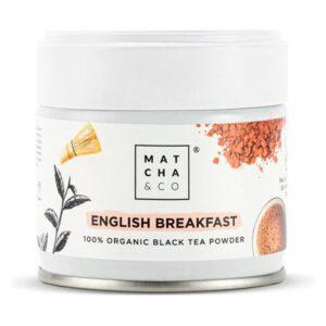 Complemento Alimentar Matcha & Co English Breakfast Balck Tea Powder 30 g