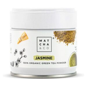 Complemento Alimentar Jasmine Green Tea Matcha & Co