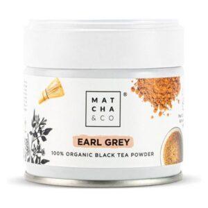 Complemento Alimentar Matcha & Co Earl Grey Black Tea Powder