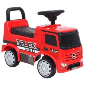 Andador camião Mercedes Benz vermelho - PORTES GRÁTIS