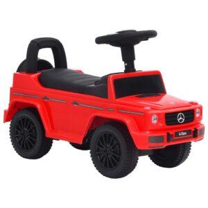 Andador carro Mercedes Benz G63 vermelho - PORTES GRÁTIS