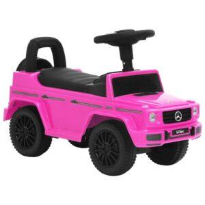 Andador carro Mercedes Benz G63 rosa - PORTES GRÁTIS