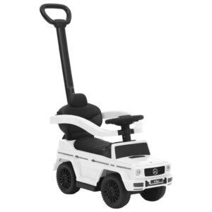 Carro infantil de empurrar Mercedes-Benz G63 branco - PORTES GRÁTIS