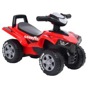 Moto-quatro infantil Good Year vermelho - PORTES GRÁTIS