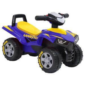 Moto-quatro infantil Good Year azul - PORTES GRÁTIS