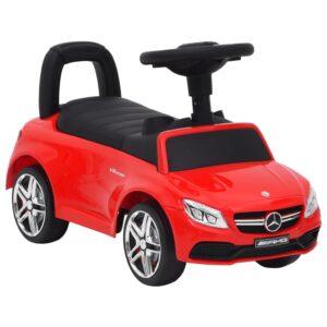 Andador carro Mercedes Benz C63 vermelho - PORTES GRÁTIS