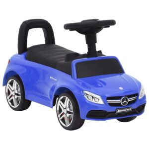 Andador carro Mercedes Benz C63 azul - PORTES GRÁTIS
