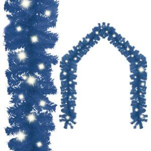 Grinalda de Natal com luzes LED 20 m azul  - PORTES GRÁTIS