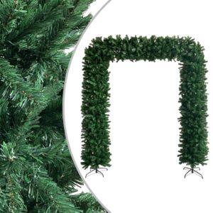 Grinalda de Natal 240 cm verde  - PORTES GRÁTIS