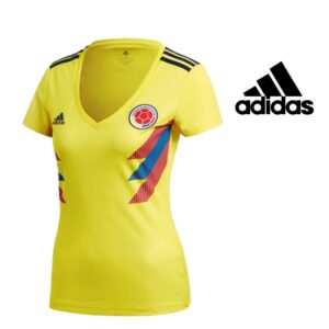 Adidas® Camisola Mulher Oficial Federação Colômbia  | Tamanho XS