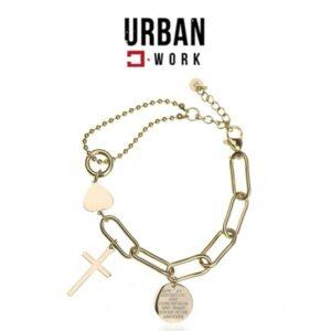 Urban Work Pulseira de Aço Cirúrgico BST1115