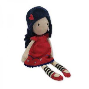 Boneca de Trapo Love Grows Gorjuss Vermelho (30 cm)