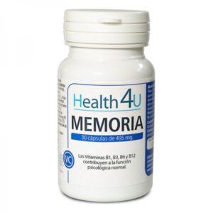Cápsulas Health4u Memória (30 uds)