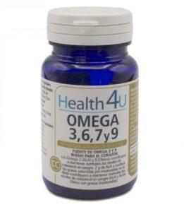 Complemento Alimentar Health4u Omega 3, 6, 7 y 9 (60 uds)